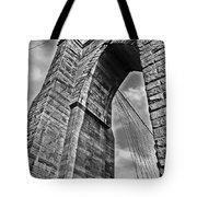 Brooklyn Bridge Arch - Vertical Tote Bag