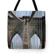 Brooklyn Bridge Cables Nyc Tote Bag