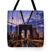 Brooklyn Bridge Evening Tote Bag