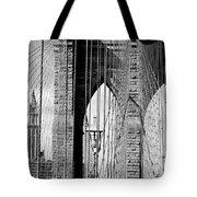Brooklyn Bridge New York City Usa Tote Bag