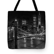 Brooklyn Bridge New York Tote Bag