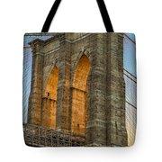 Brooklyn Bridge Tower Tote Bag