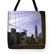 Brooklyn Bridge View Tote Bag