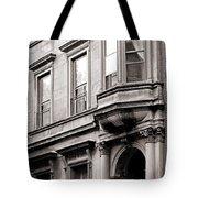 Brooklyn Heights -  N Y C - Classic Building And Bike Tote Bag