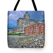 Brooklyn Old Tobacco Warehouse Tote Bag