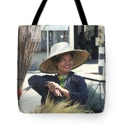 Broom Seller  Tote Bag
