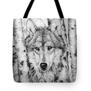 Brother Wolf Tote Bag