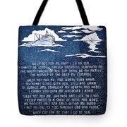 Brotherhood Of The Sea Tote Bag