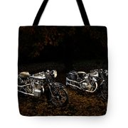 Brough Superior Ss100 And 680 Tote Bag