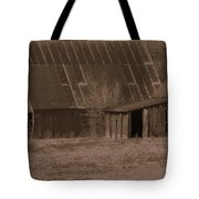 Brown Barns Tote Bag
