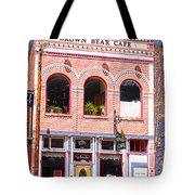Brown Bear Cafe Silverton Colorado Tote Bag