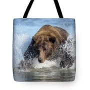 Brown Bear, Ursus Arctos, Fishing Tote Bag