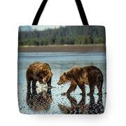 Brown Bear, Ursus Arctos, Walking Tote Bag