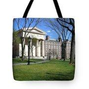 Brown Campus Manning Hall Tote Bag