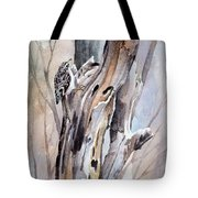 Brown Creeper Tote Bag