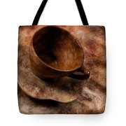 Brown Cup  Tote Bag