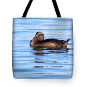 Brown Duck Tote Bag
