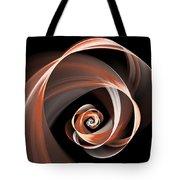 Brown Flirt Tote Bag
