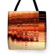 Brown Tote Bag by Francoise Leandre