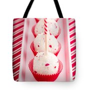Brownie Peppermint Cake Pops Tote Bag