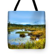 Browns Tract Inlet Waterway Tote Bag