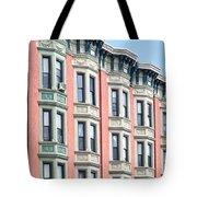 Brownstone Art Hoboken Nj Tote Bag