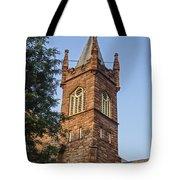 Brownstone Church Tote Bag