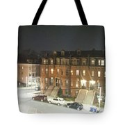 Brownstone Tote Bag