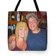 Bruce And Joy Tote Bag
