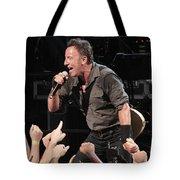 Musician Bruce Springsteen Tote Bag