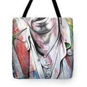 Bruce Springsteen Tote Bag by Joshua Morton
