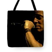 Bruce Springsteen Performing The River At Glastonbury In 2009 - 3 Tote Bag