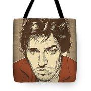 Bruce Springsteen Pop Art Tote Bag