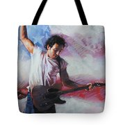 Bruce Springsteen The Boss Tote Bag