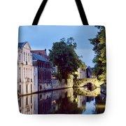 Brudges Canal Bridge Tote Bag