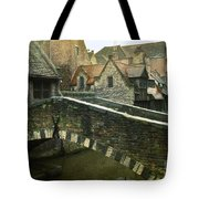 Bruges Canal Bridge Tote Bag