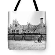 Bruges Cyclist Tote Bag