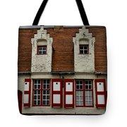 Bruges Houses Tote Bag
