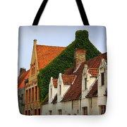 Bruges Rooftops Tote Bag