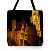 Brugge Architecture Tote Bag