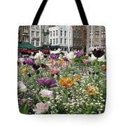 Brugge In Spring Tote Bag
