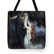 Brunhilde Knelt At His Feet, From The Tote Bag