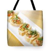 Bruschetta Italian Starter Dish Tote Bag
