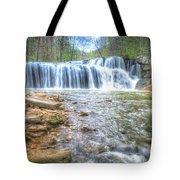 Brush Creek Falls Located In West Virginia Tote Bag