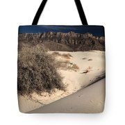 Brush In The Dunes Tote Bag