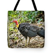 Brush Turkey Tote Bag