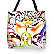 Brush Your Teeth With Rainbows Tote Bag