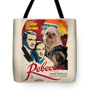 Brussels Griffon Art - Rebecca Movie Poster Tote Bag