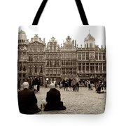 Brussel's Trance Tote Bag by Donato Iannuzzi