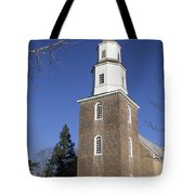 Bruton Parish Church In Colonial Williamsburg Tote Bag